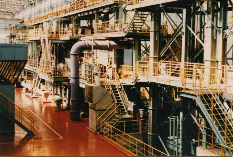 Steel processing lines